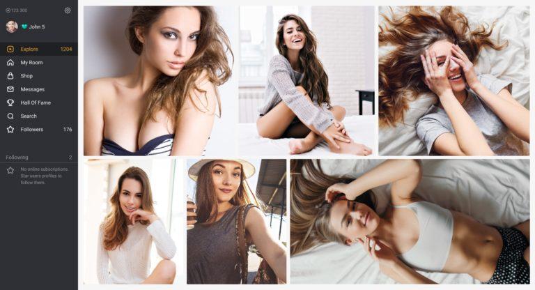 Эротический видеочат с девушками 18 плюс